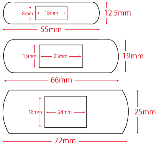 救急薬品 健康食品 医薬品 共立薬品工業株式会社/キズリバテープ布タイプ 3-22(SZ)